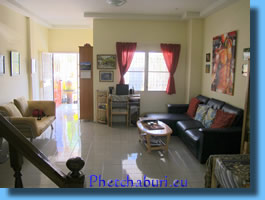Big sun-drenched living room House for sale in Cha-Am