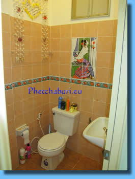 Bathroom with nice tiles